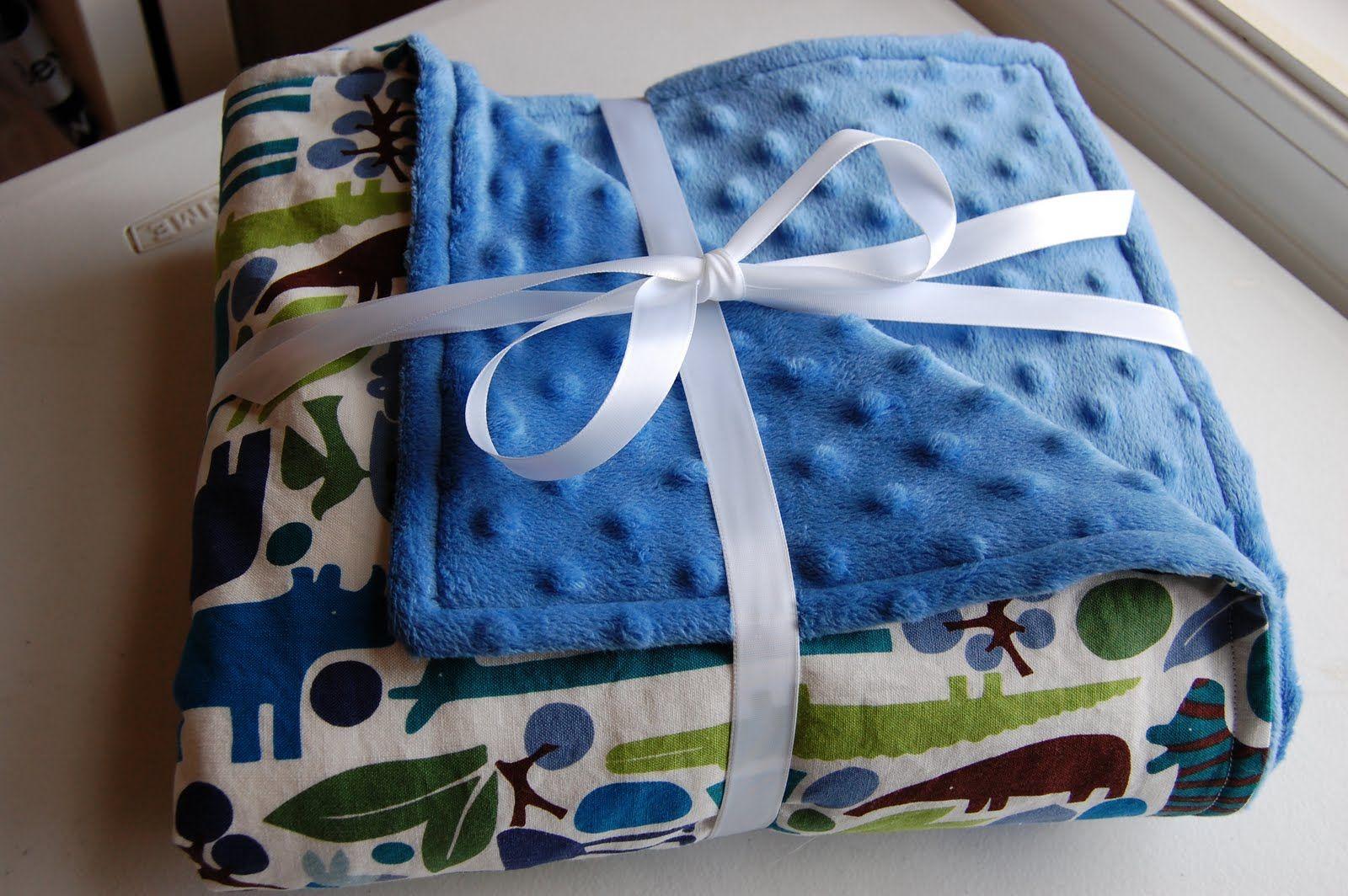 Homemade Baby Blanket Diy baby blanket, Baby blanket