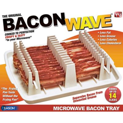 Emson Bacon Wave Microwave Bacon Tray With Images Microwave