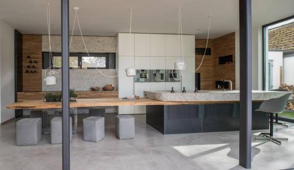 nat rlich sch n stahl stein holz und gro z gigkeit das sind die zutaten f r das. Black Bedroom Furniture Sets. Home Design Ideas