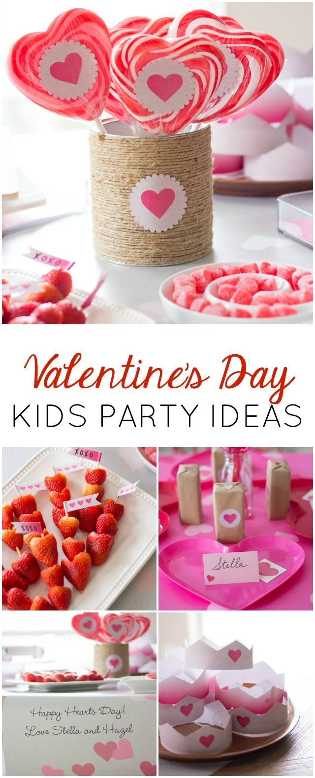 a heart filled valentines party valentines day party. Black Bedroom Furniture Sets. Home Design Ideas