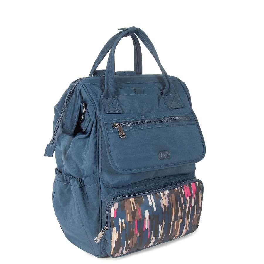 Convertible backpack straps crossbody bag