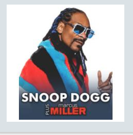 Snoop Dogg – Marcus Miller - July 28, 2015, in Lucca.