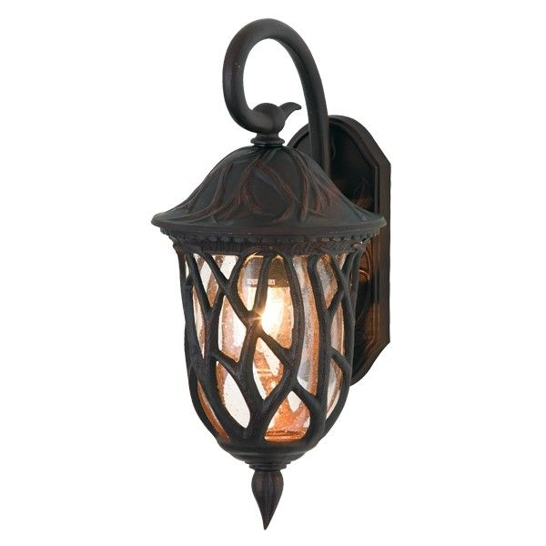 Pixie 1 Light Large Wall Bracket In Dark Bronze Outdoor House Lighting Outdoor Lighting