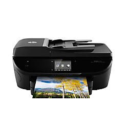 Hp Envy 7640 Wireless E All In One Color Inkjet Printer Copier Scanner Fax By Office Depot Amp Officemax Wireless Printer Multifunction Printer Mobile Print