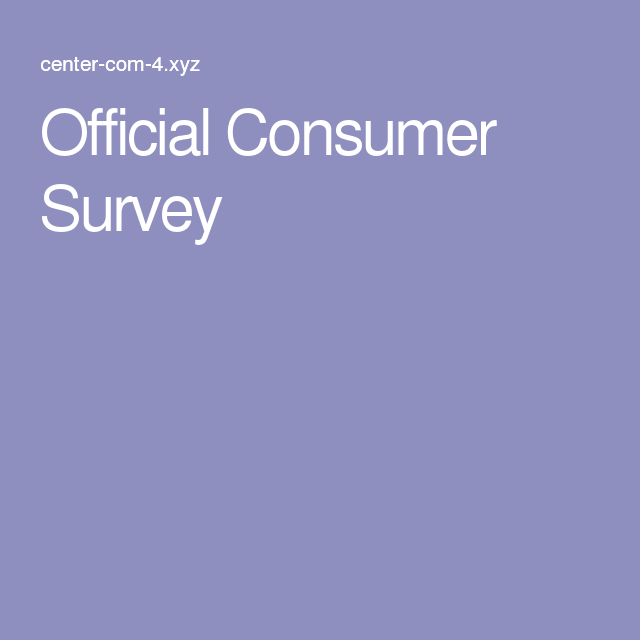 The 25 best consumer survey ideas on pinterest free for Promo code for consumer crafts