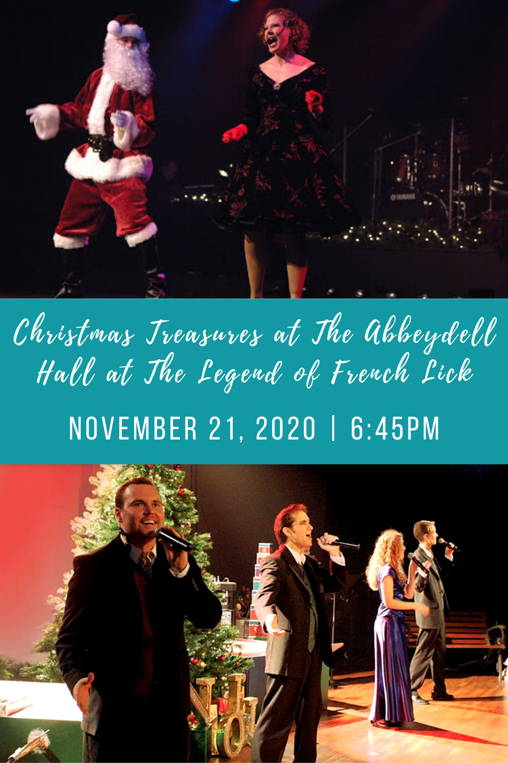 French Lick Christmas 2020 Christmas Treasures at The Abbeydell Hall at The Legend of French