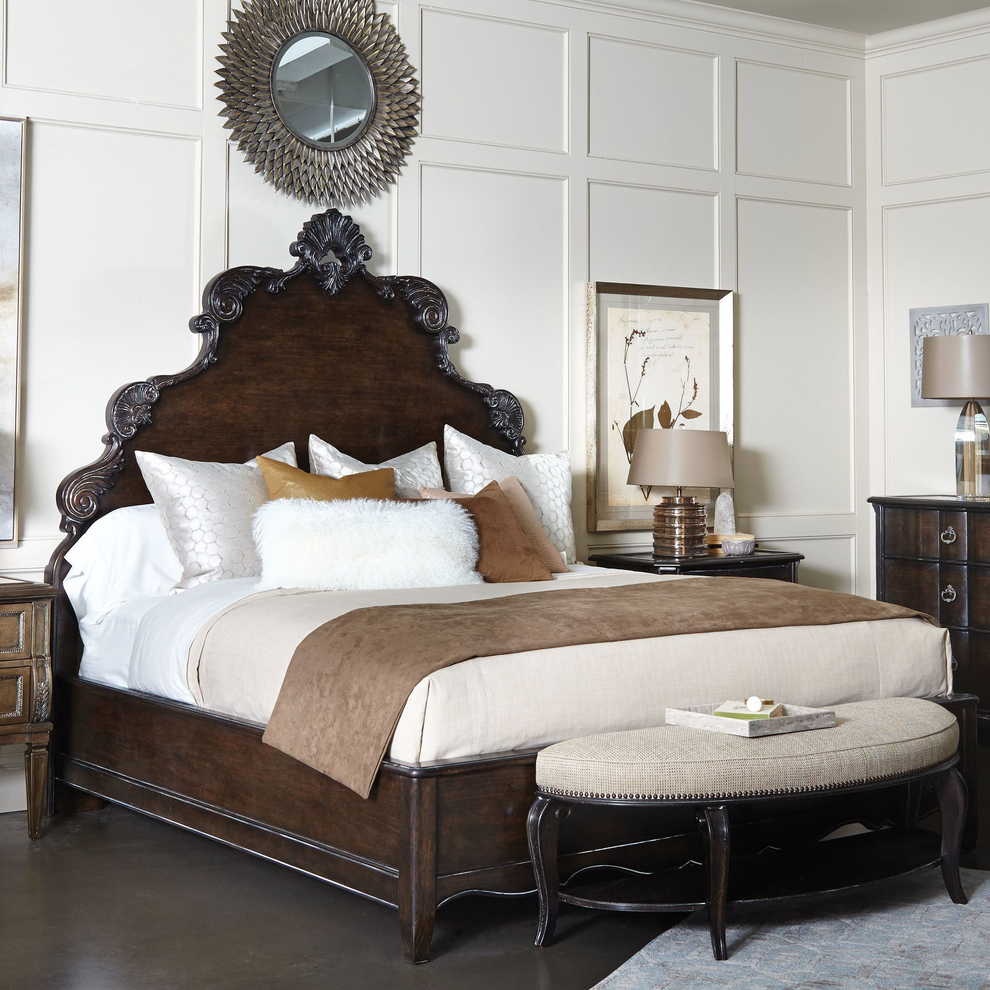 Sofitel Upholstery Panel Bed Furniture, Bed