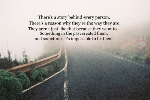 A Story Behind Every Person