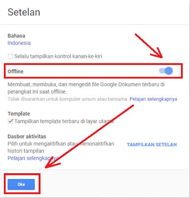 Cara Menggunakan Google Docs Spreadsheet Slide Secara Offline Google Tahu Papan