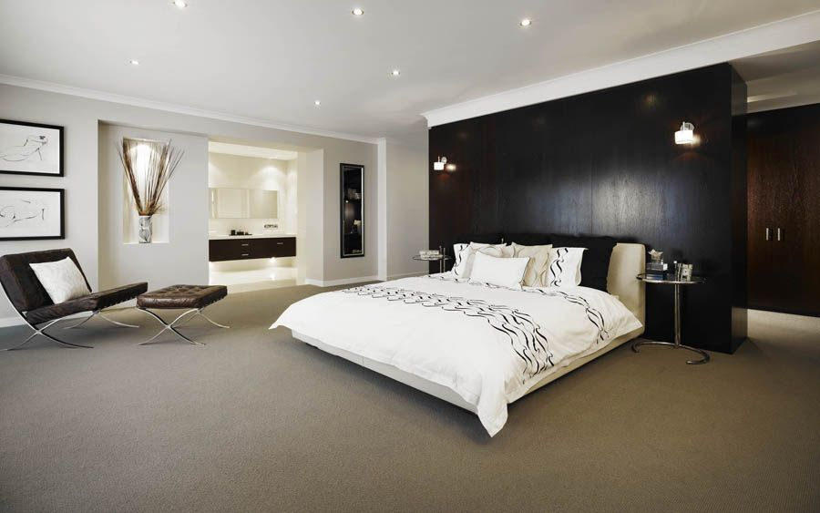 Ensuitewardrobe Behind Bedfreakin Genius House Ideas - Master bedroom with ensuite designs