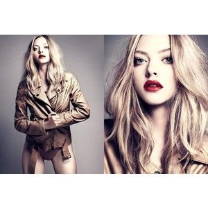 pale skin, red mouth, slightly smoked eyes, organized chaos blonde hair, nude pallette <3