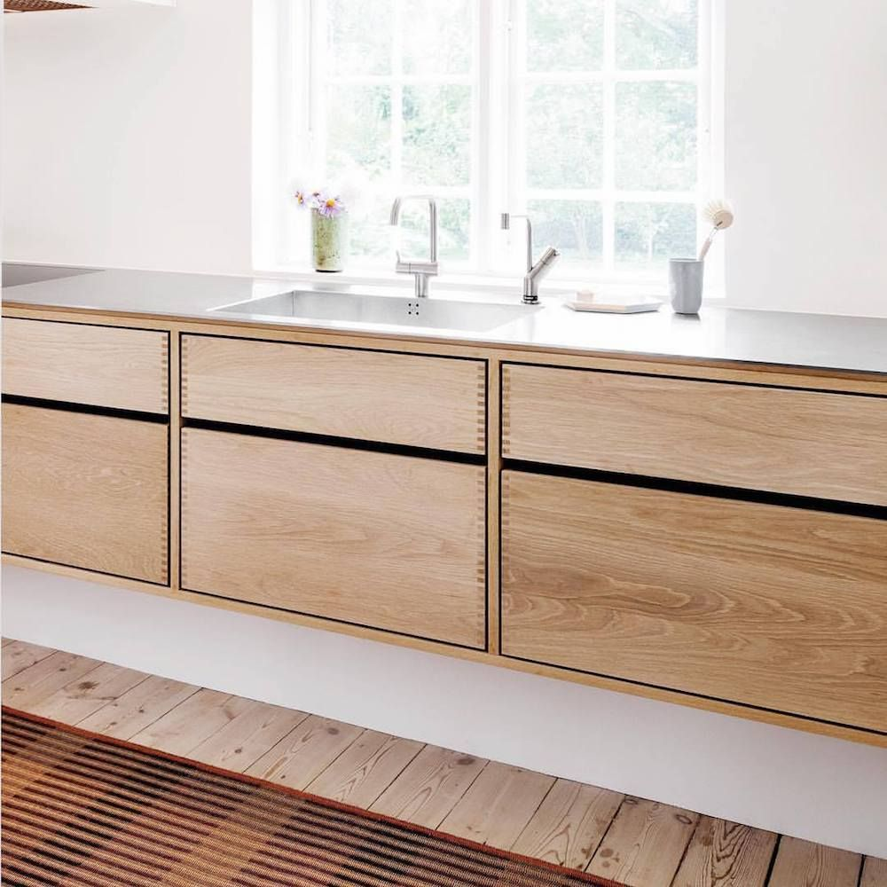 Trendspotting Unpainted Kitchen Cabinets Kokkendesign