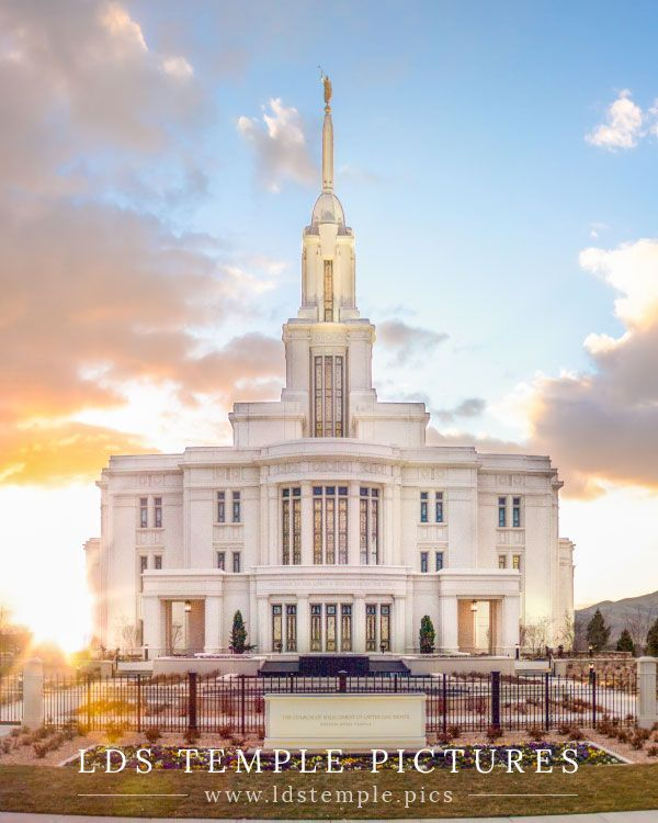 Charming The New Payson Utah Temple. The Open House Begins On April 24th! | LDS