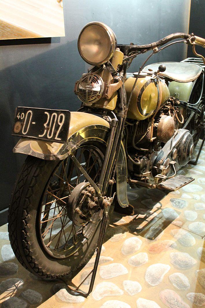 Kuukauden esine, Harley Davidson 1936- Pohjois-Pohjanmaan museo - Oulun kaupunki