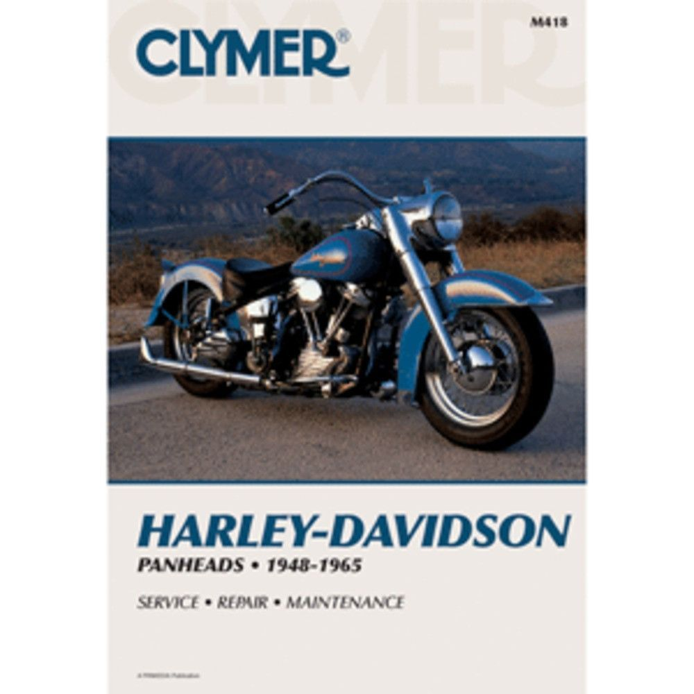 Clymer Manual for Harley-Davidson Panheads