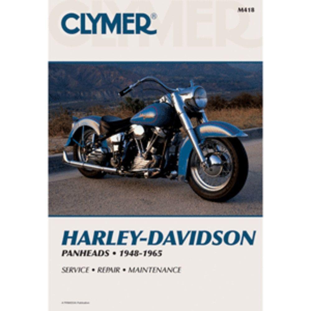 Clymer Harley-Davidson Panheads (1948-1965) · Repair ManualsTool ...