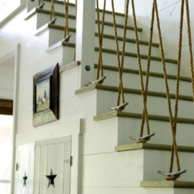 York Basement Stairs Idea