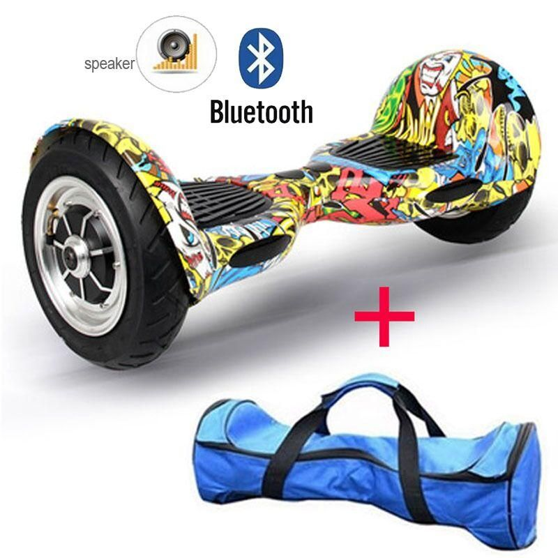 Discount Electric Scooter 10 Inch Bluetooth Self Balancing Scooter With Key  Hoverboard With Bluetooth Two Wheel