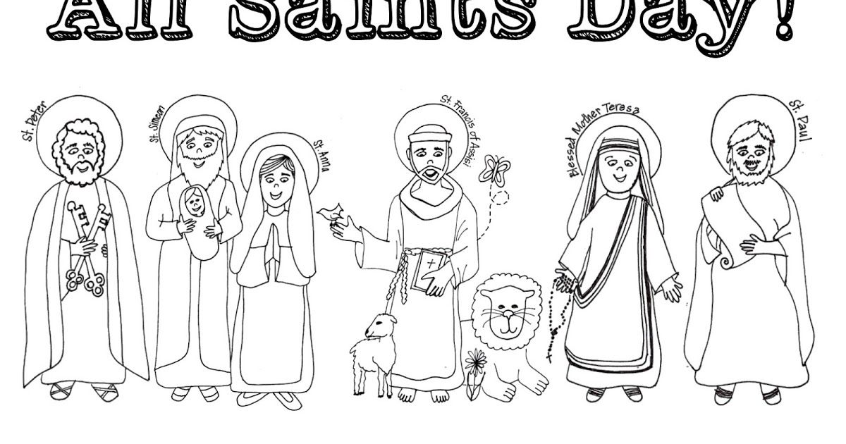 33++ Catholic playground saints coloring pages information