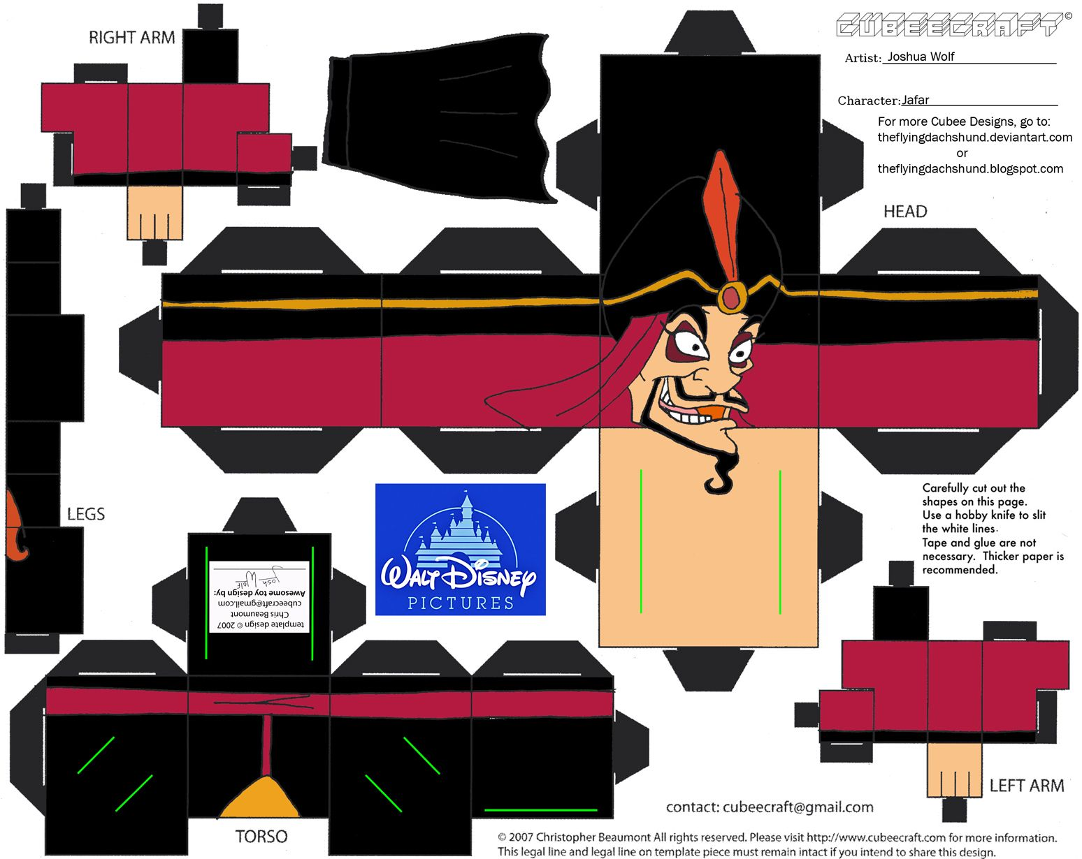 Dis14: Jafar Cubee by TheFlyingDachshund.deviantart.com on ... - photo#43