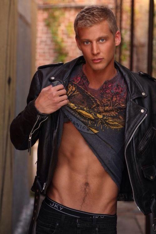 Gay photo blond