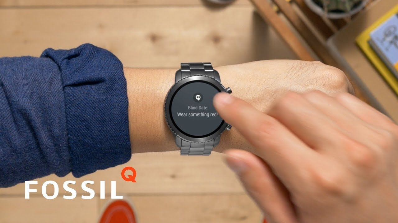 Fossil Q Smartwatches = Wrist Essentials Pick your apps