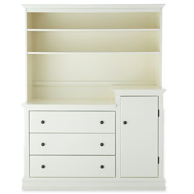 Savanna Tori Changing Tower OR Hutch - Off White - jcpenney $500. I ...