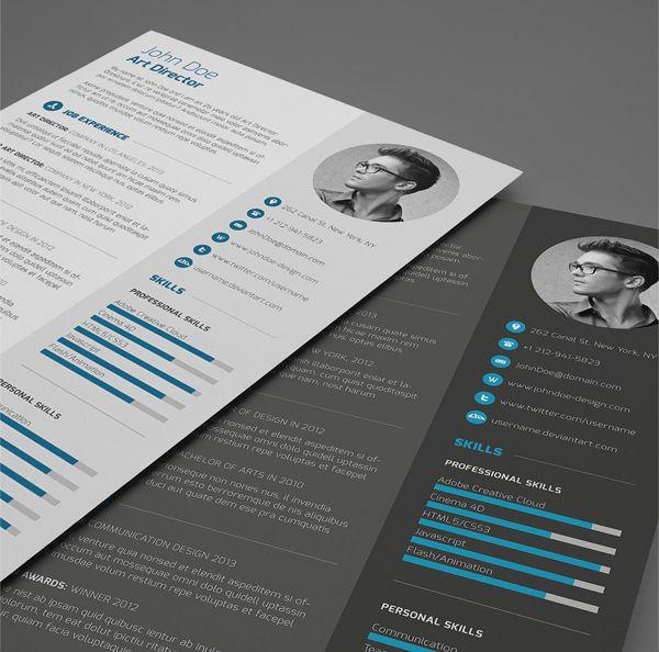 grafikerde 40 inspirierende und kreative bewerbungen - Design Bewerbung