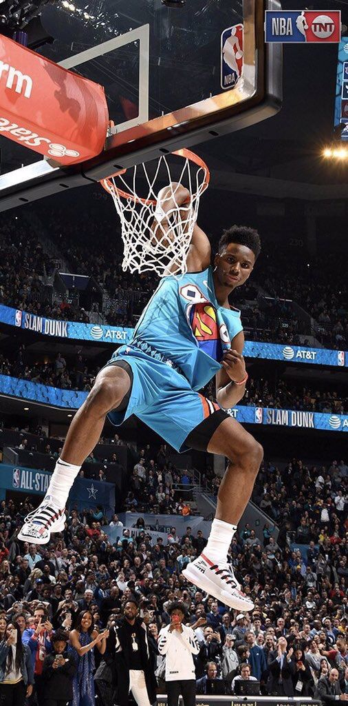CONGRATS HAMI ON WINNING THE 2019 NBA SLAM DUNK