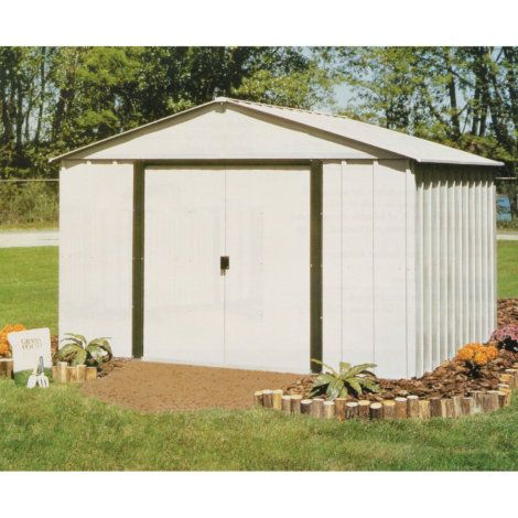 Arrow 10x12 Arlington Shed 379 Steel Storage Sheds Shed Storage Shed