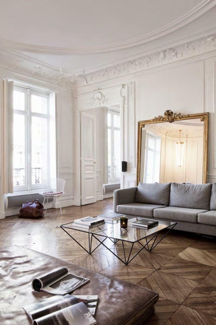 Bien chin interiores modern country pinterest for Interni parigini