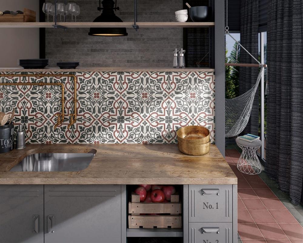 Carrelage Cuisine Des Modeles Tendance Pour La Cuisine Art Nouveau Style Tile Tiles