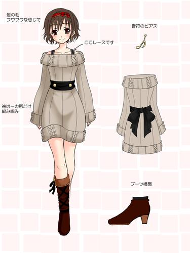 ニットワンピ イラスト google 検索 zelda characters character beautiful art