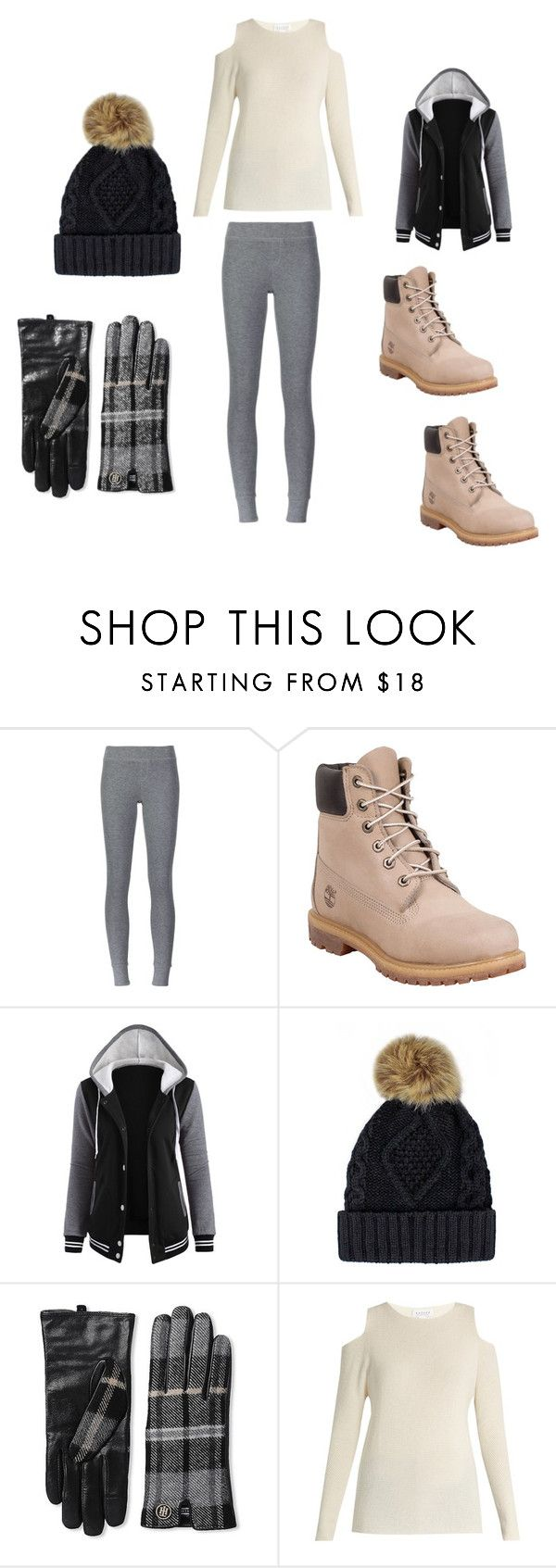 """""""Keeping warm during winter"""" by grace-dxvii on Polyvore featuring ATM by Anthony Thomas Melillo, Timberland, Tommy Hilfiger and Velvet by Graham & Spencer"""
