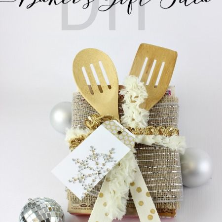 DIY Serving Utensils and Baker's Gift Idea - www.classyclutter.net