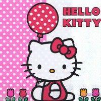 Serviettes Hello Kitty à prix discount