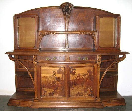 emile gall art nouveau furniture emile galle meubels pinterest jugendstil m bel. Black Bedroom Furniture Sets. Home Design Ideas
