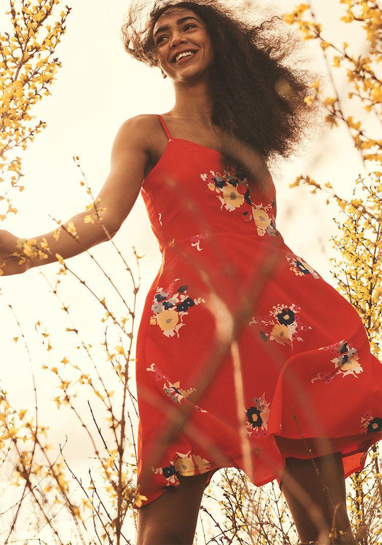 6e7b775dfe ModCloth Living Lightheartedly Sundress Red