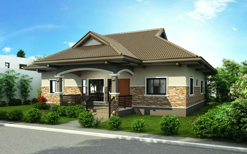 Pinoy House Design 2015002 is a one storey house design ...