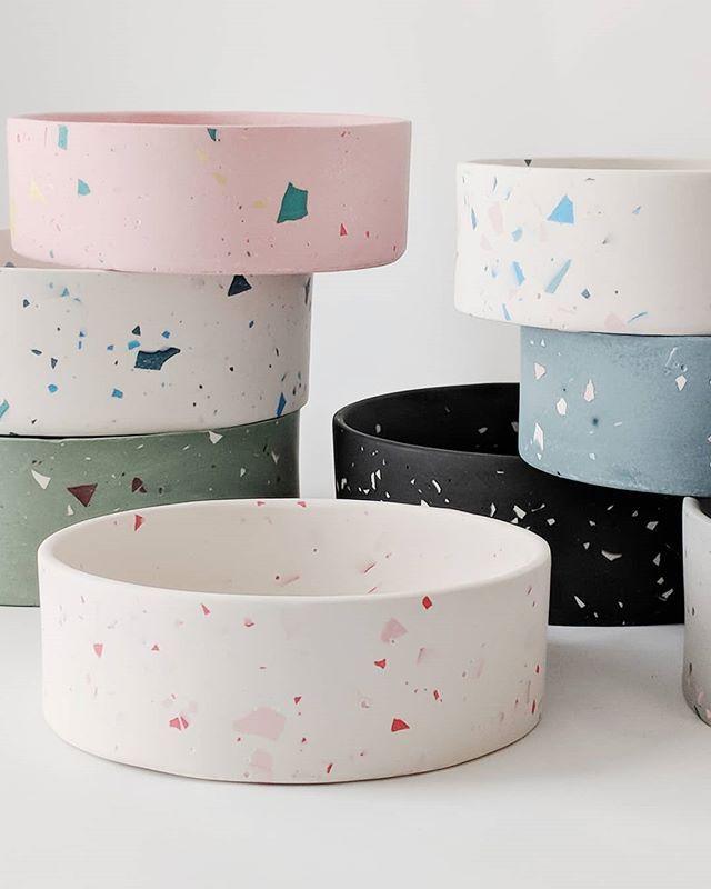 Ceramic Dog Bowl Set