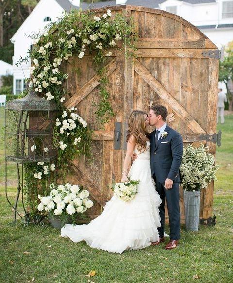 Outdoor Wedding Ceremony Doors: 55 Vintage Door Wedding Backdrops