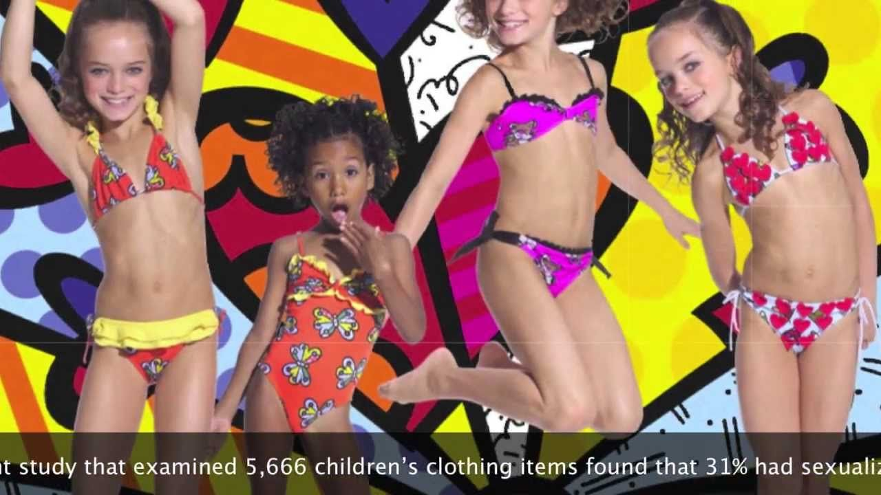 Sexualization of girls clothing