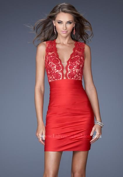 Fitted Homecoming Dresses 2014