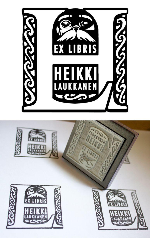 Exlibris-leimasin | Raportti