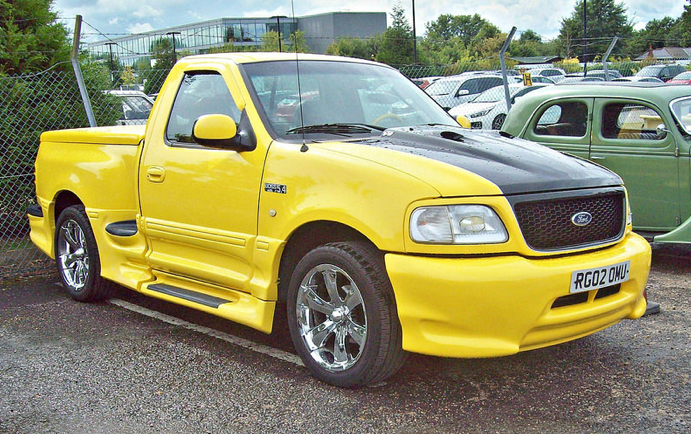 2002 ford f150 boss 5 4 10th gen pick up 5 4l v8 triton supercharged engine trucks. Black Bedroom Furniture Sets. Home Design Ideas