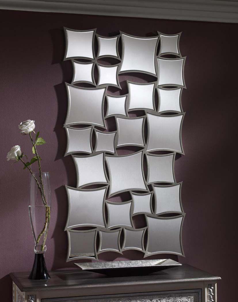 Espejos modernos de resina modelo bratislava decoracion for Espejos originales recibidor