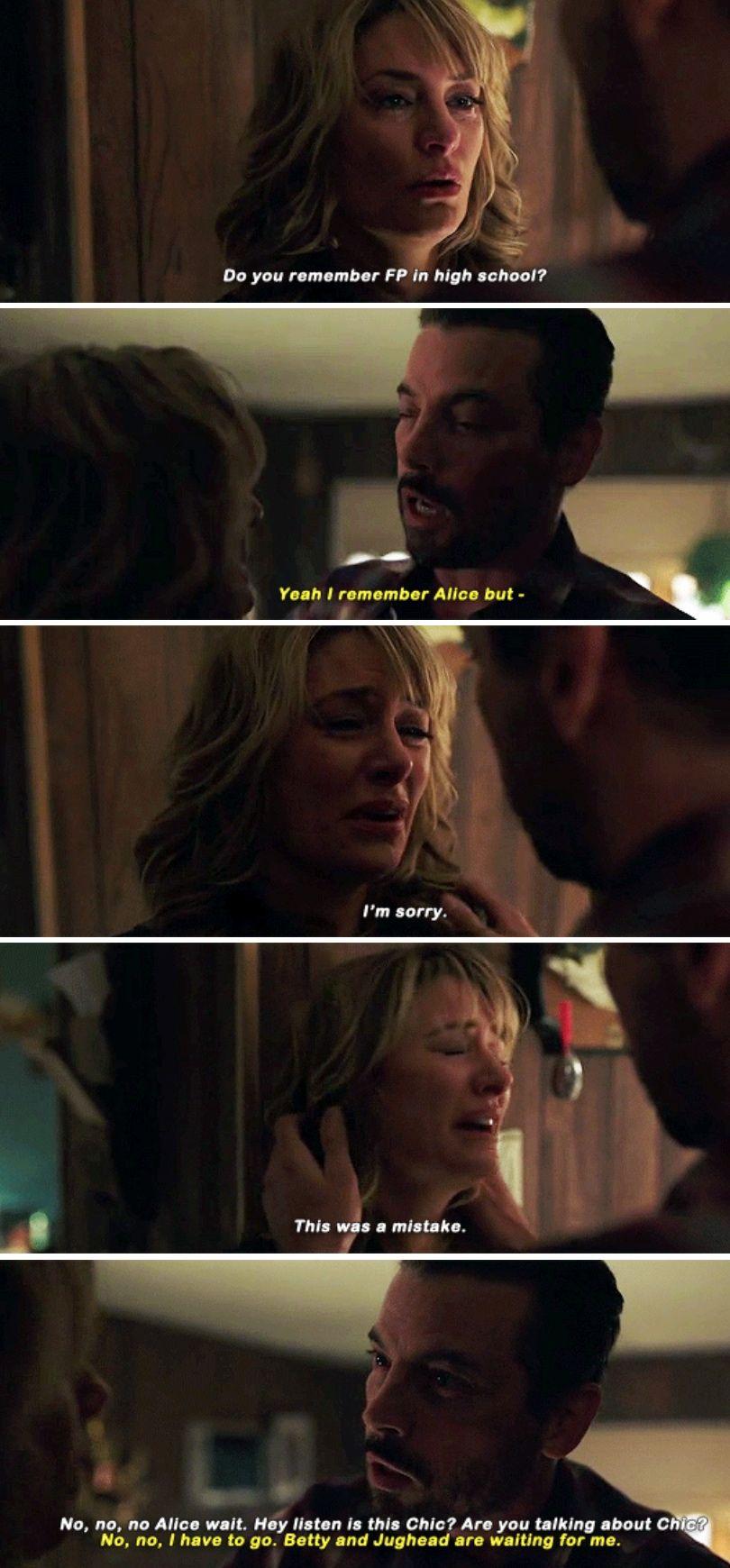 Riverdale 2x19 Alice Fp Bughead Riverdale Riverdale Memes