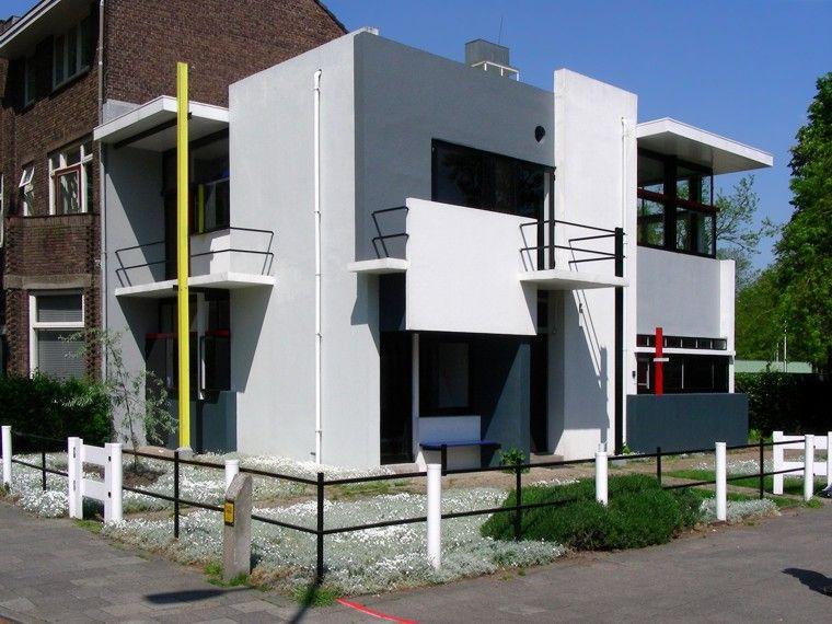 Schröder Haus Utrecht Gerrit Thomas Rietveld 1924 Bauhaus