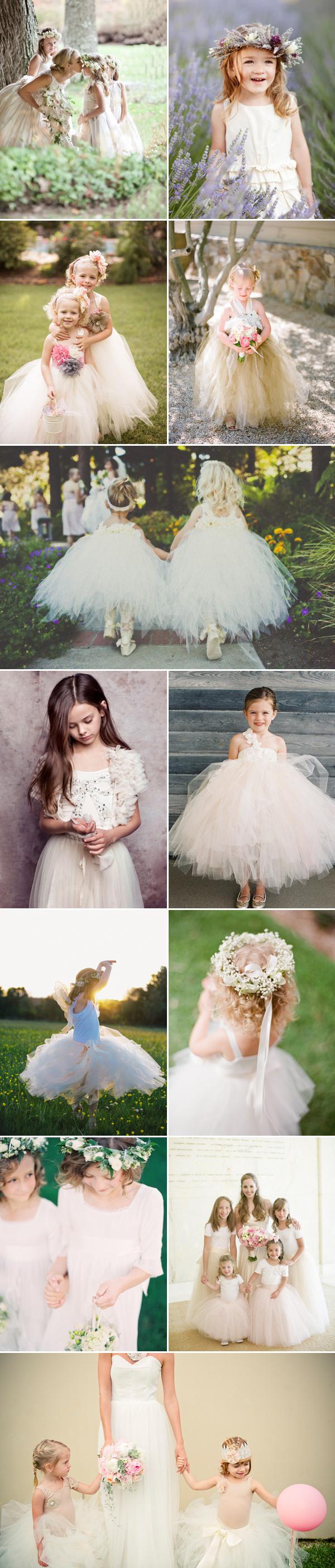 20 Angelic Flower Girls