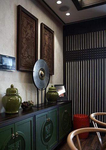 Mobilier asiatique aménagement décoration appartement style asiatique